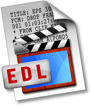 EDL Ease | Edit Decision List Converter for Excel and Filemaker Pro